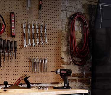Hasta 30% de descuento en organización de garaje y taller