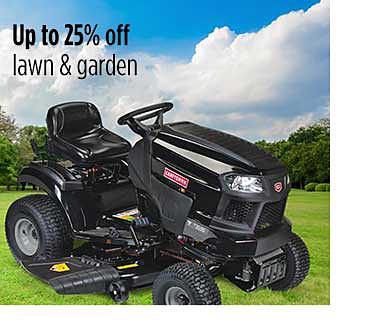 Hasta 25% de descuento en césped y jardín