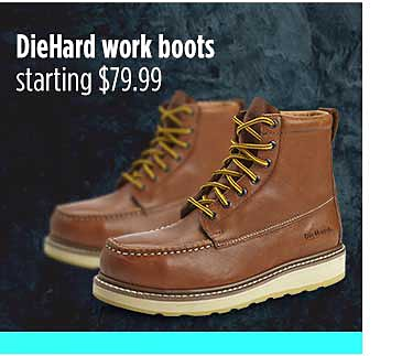 Botas de trabajo DieHard desde $79.99