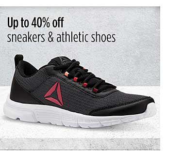 hasta 40% de descuento en zapatillas atléticas