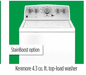 Kenmore 4.3 cu. ft. top-load washer