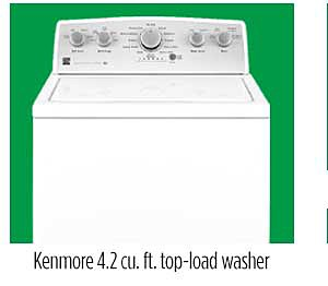 Kenmore 22352 4.2 cu. ft. Top-Load Washer