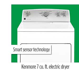 Kenmore 65132 7.0 cu. ft. Electric Dryer
