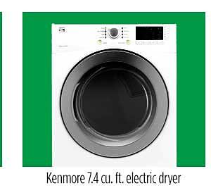 Kenmore 81182 7.4 cu. ft. Electric Dryer