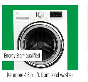 Kenmore 4.5 cu. ft. front-load washer