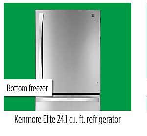 Kenmore Elite 24.1 cu. ft. refrigerator