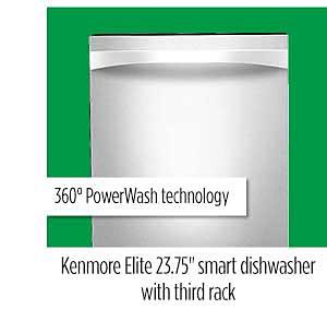 Kenmore Elite Smart Dishwasher with Third Rack