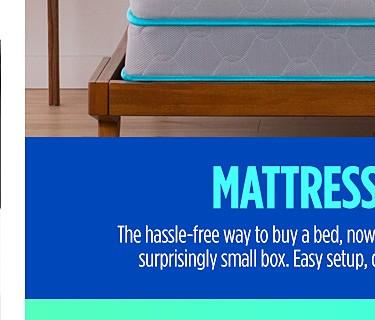 Introducing mattress in a box