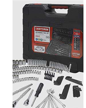 Craftsman 230pc. Mechanic's Tool Set