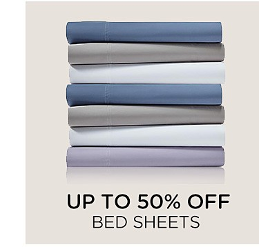 Up to 50% off bed sheets