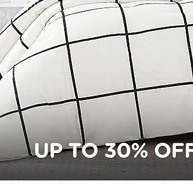 Up to 50% off comforters