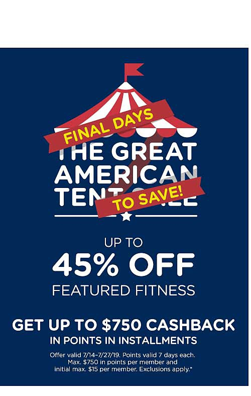 Up to 45% off Featured Fitness