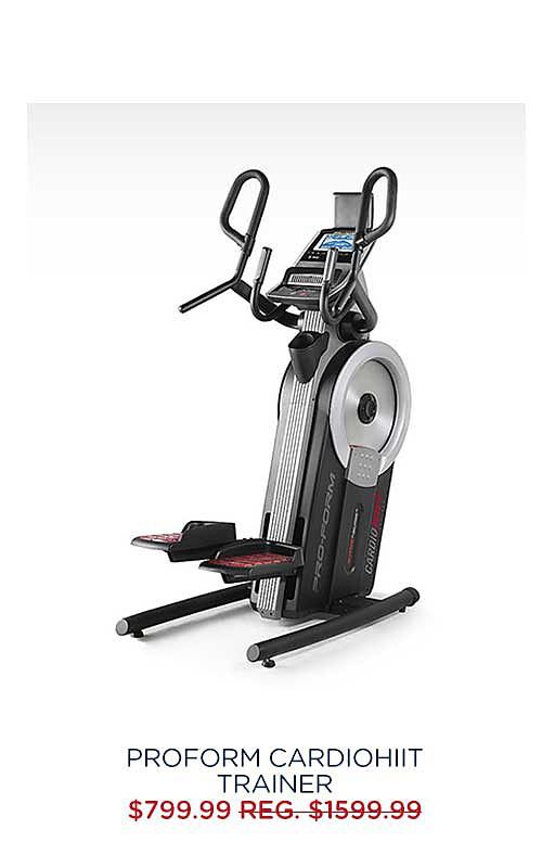 ProForm CardioHIIT Trainer $799.99