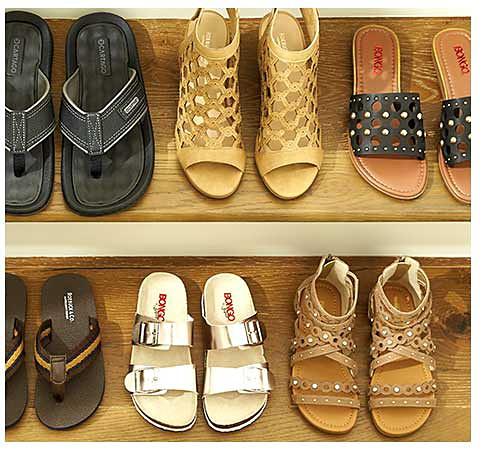Up to 50% off sandals & flip flops