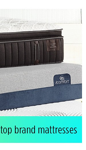 Up to 60% off top brand mattresses