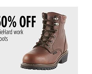 50% de descuento en botas de trabajo Diehard