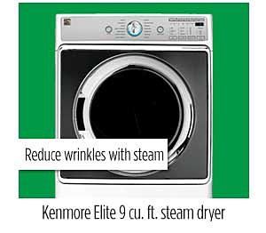 Kenmore Elite 81962 9.0 cu. ft. Electric Dryer