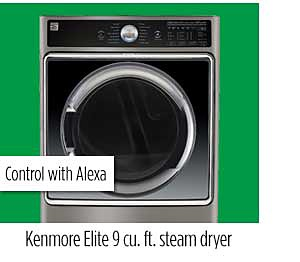 Kenmore Elite 81983 9.0 cu. ft. Smart Electric Dryer