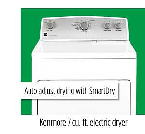 Kenmore 65132 7.0 cu. ft. Electric Dryer