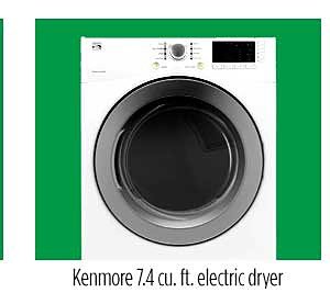 Kenmore 81182 7.4 cu. ft. Electric Dryer
