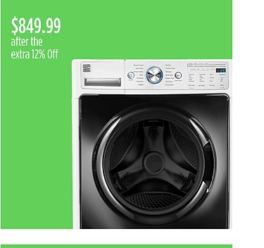 Kenmore Elite 4.5 cu. ft. Front-Load Washer, $699.99