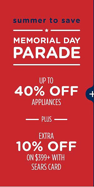 a0ab7c1aea Up to 40% off appliances