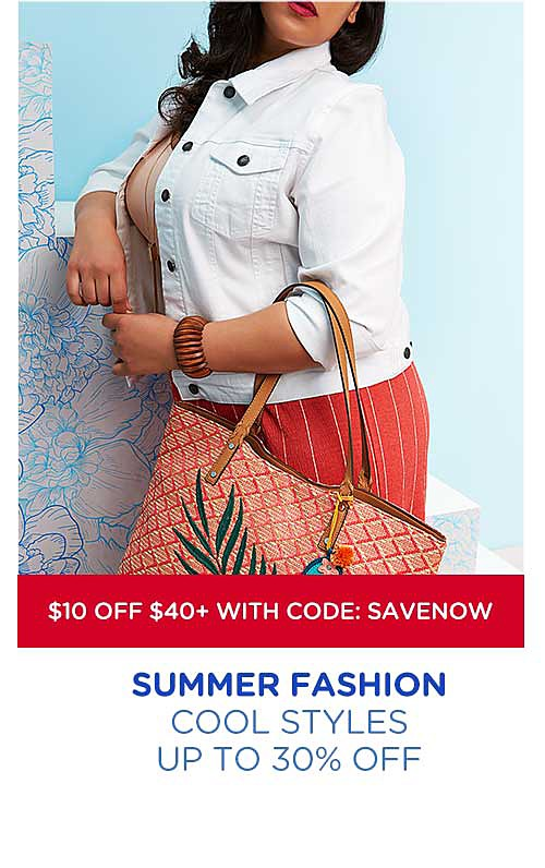 Up to 30% off summer fashion