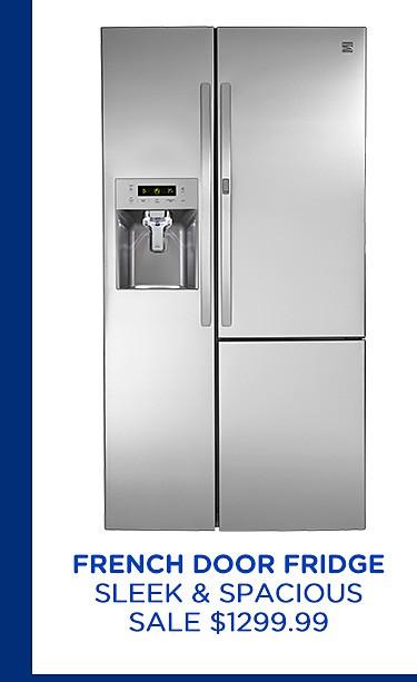French door fridge