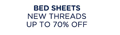 Up to 70% off bed sheets