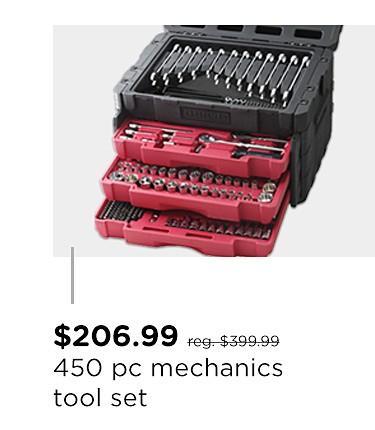 Craftsman 450 pc. Mechanic's Tool Set