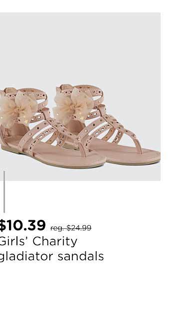 Girl Girls' Charity Gladiator Sandal