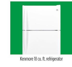 Kenmore 18 cu. ft. refrigerator