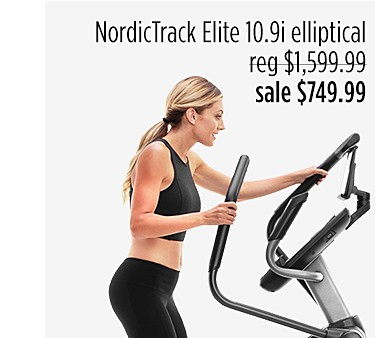 NordicTrack Elite 10.9i Elliptical w/ iFit Coach 1 YR Membership