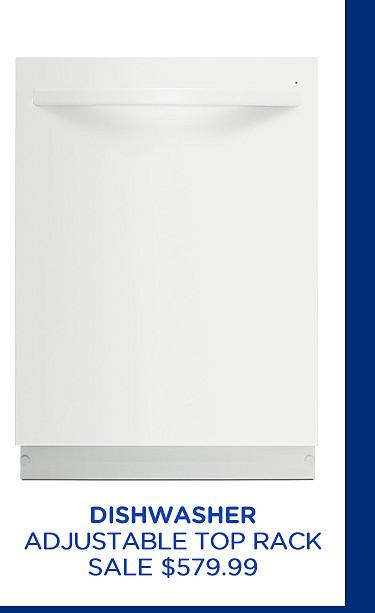 Dishwasher with adjustable upper rack
