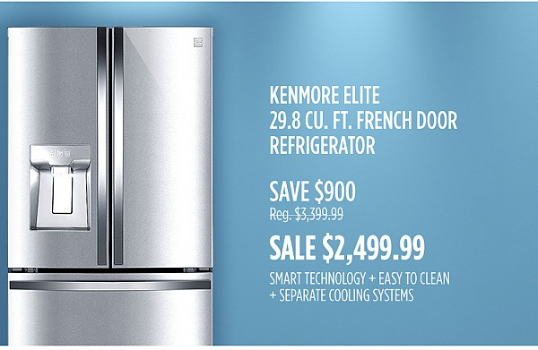 Save More, Get More with French Door Refrigerators
