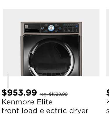 Kenmore Elite 7.4 cu. ft. Front-Load Electric Dryer