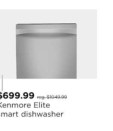Kenmore Elite Smart Dishwasher