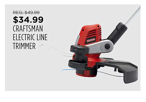 Craftsman Electric Corded Line Trimmer