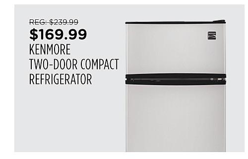 Kenmore 3.2 cu. ft. 2-Door Compact Refrigerator