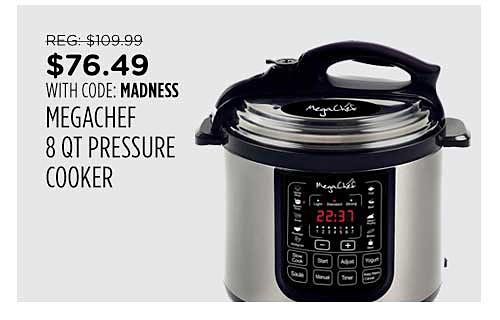 MegaChef Pressure Cooker