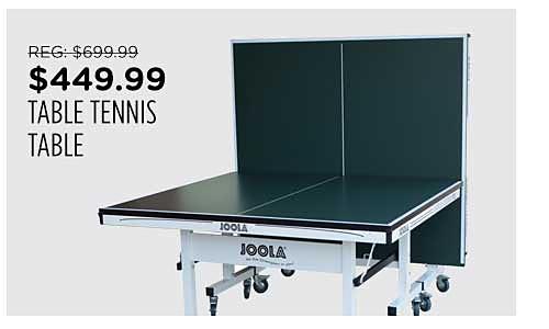 JOOLA Table Tennis Table