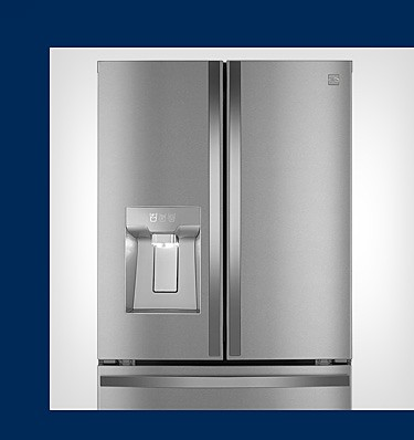 Make more room for ice cream with a slim in-door icemaker