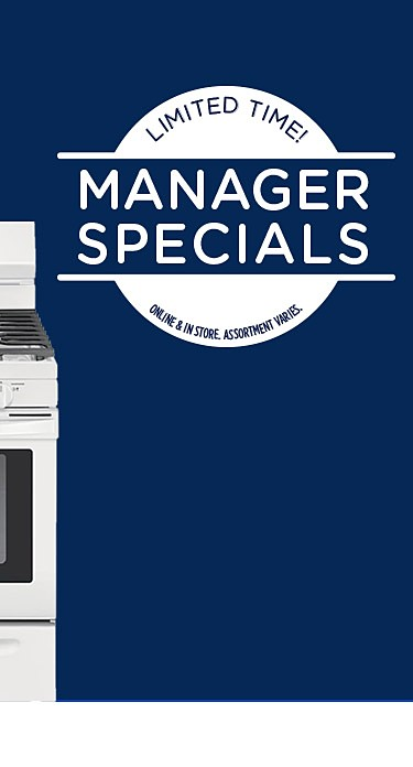 Limited time! Manager Specials