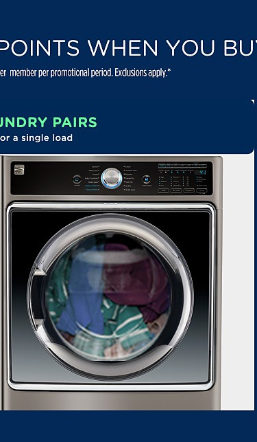 Our biggest laundry pairs