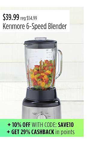 Kenmore 205601 6-Speed Blender