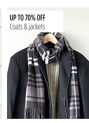 Up to 70% Off Coats & Jackets