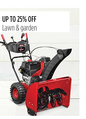 Up to 25% Off Craftsman Lawn & Garden