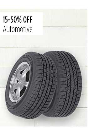15-50% Off Automotive