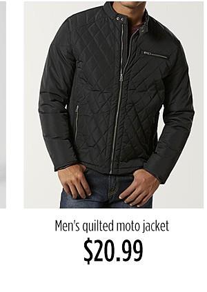 Men's Moto jacket $20.99