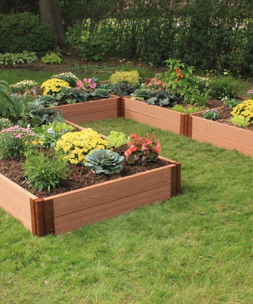 Multiple garden beds